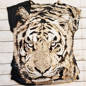 Tops - TIGER GRAPHIC T-Shirt